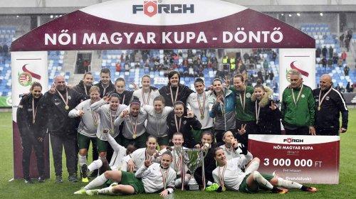 Női Magyar Kupa: a Ferencváros megvédte címét