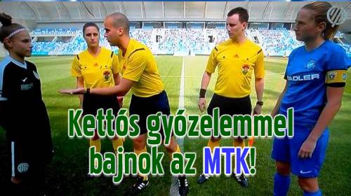 A visszavágón is 1-0-ra nyertek a kék-fehérek