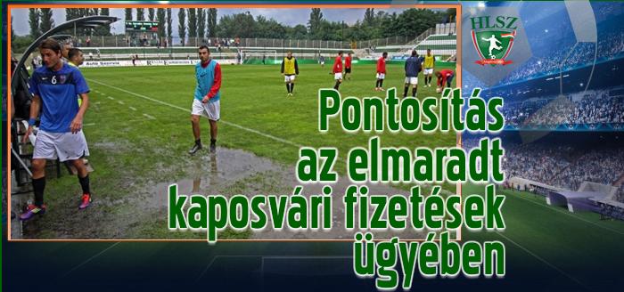 A Kaposvár hat játékosa fordult szervezetünkhöz