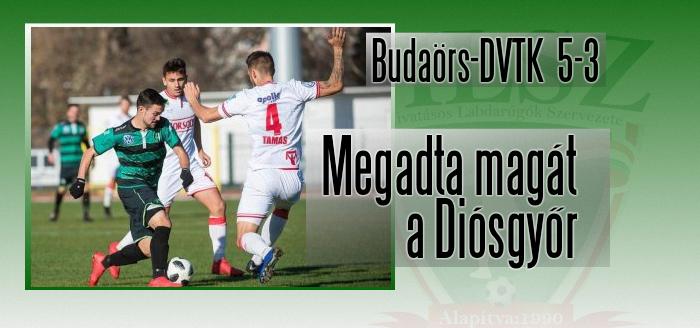 A Budaörs bravúros győzelme után büntetést szabott ki a csapat szakmai igazgatója!