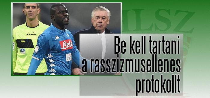 A FIFPro és az UEFA elítéli az olasz bajnokin történteket