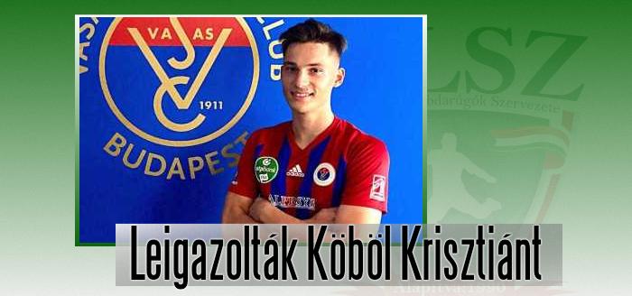 A Vasas és a Kubala Akadémia közösen szerződtette a játékost