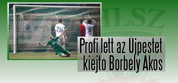 Két fiatal kaposvári labdarúgó profi szerződést kapott