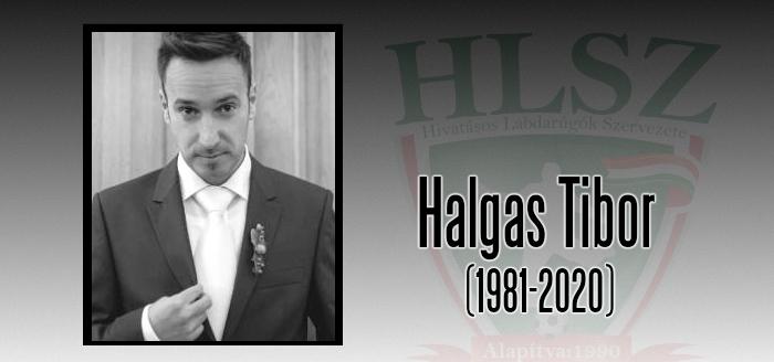 Elhunyt Halgas Tibor